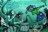 Toxic Frogs - The mermaid's songs